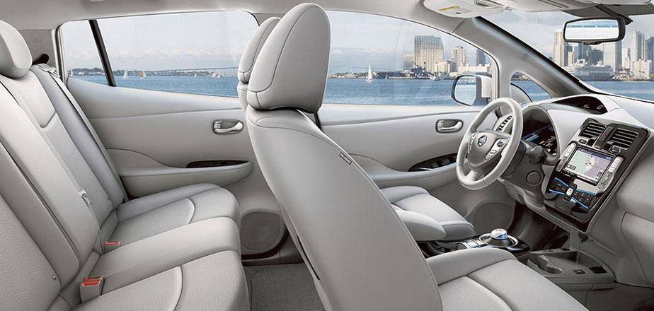 Nissan Leaf Interieur