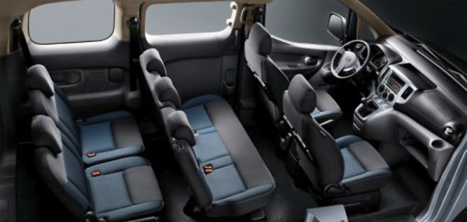 Nissan e-NV200 EVALIA Interieur