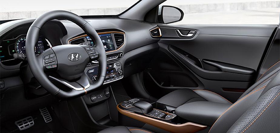 Hyundai Ioniq Interieur
